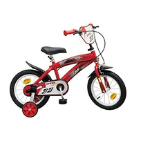 bicicletta 14'' speed rossa