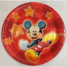 piatto carta topolino/mickey party 23cm