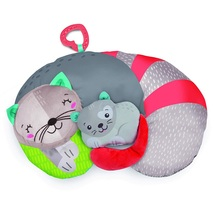 baby clementoni for you - kitty cat tummt timepillow