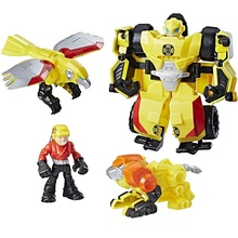 trasformer bumblebee rock rescue team