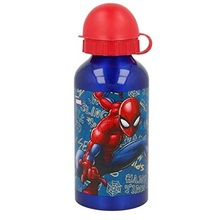 borraccia spiderman alluminio
