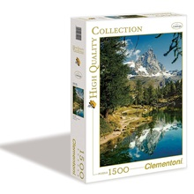 puzzle 1500 pezzi the blue lake