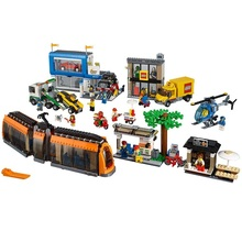 lego city square building kit