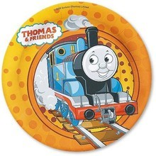 piatto carta thomas e friends 18 cm party