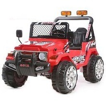 auto jeep safari 618 12v rossa
