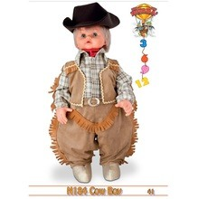 costume cow boy 06 mesi